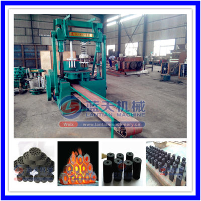 Briquette charcoal machine