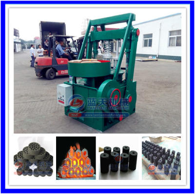Charcoal powder shaping machine