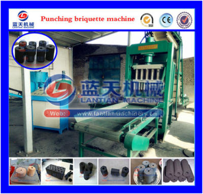 Ceramic power briquette machine