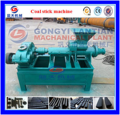 Coal rod extruder machine