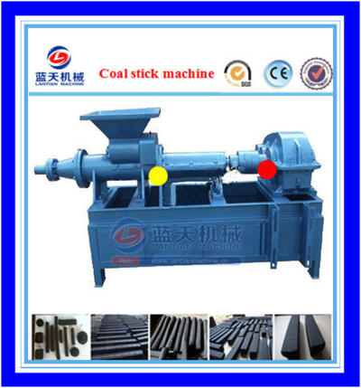 Silver charcoal briquette machine