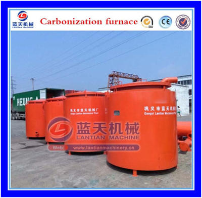 High temperature carbonization furnace