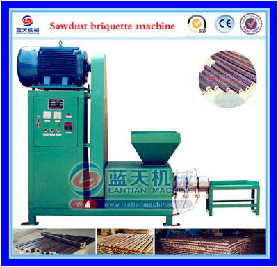 Corn cob briquette machine