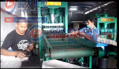 Charcoal briquettes machine in Malaysian